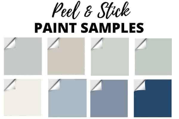 Paint samples Peel and Stick
