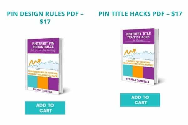 Black Friday sale for pinterest ebooks