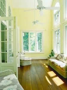 wide plank pine floors