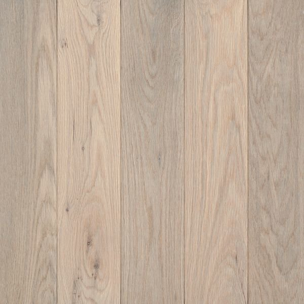 Whitewashed solid oak hardwood flooring