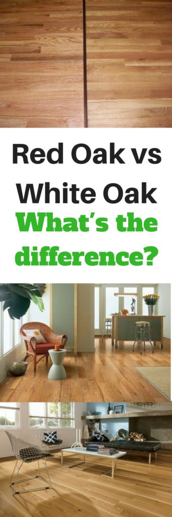 red oak vs white oak - what's the difference