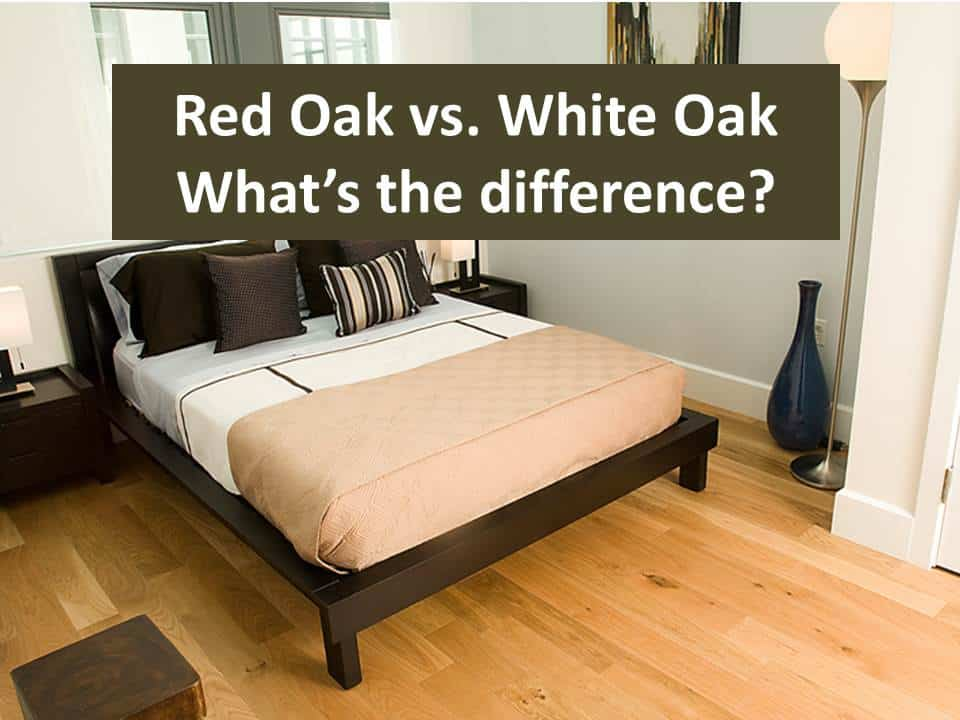 Red Oak Vs White Oak Hardwood Flooring What S The