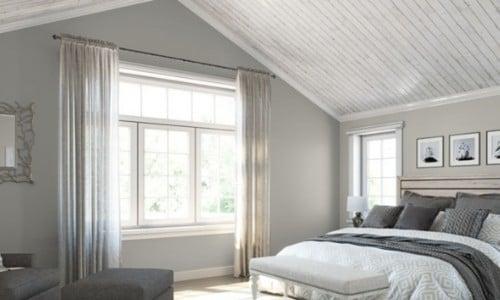 Repose Gray SW7015 in Master bedroom