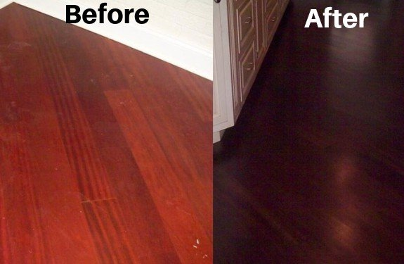 Brazilian Cherry How To Eliminate The Red The Flooring Girl