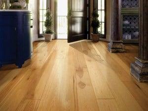 hickory flooring wide plank
