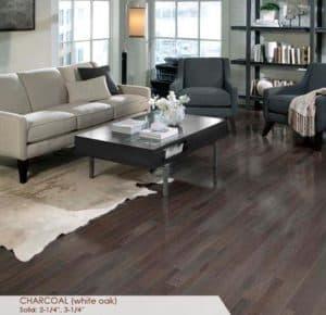 somerset charcoal gray oak homestyle - prefinished gray oak hardwood