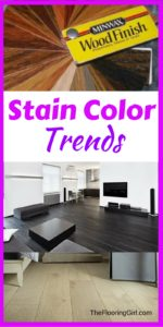 Hardwood Color Trends for 2017 - Stain colors for wood