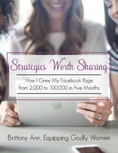 Facebook Strategies worth sharing going from 2000 to 100000 members