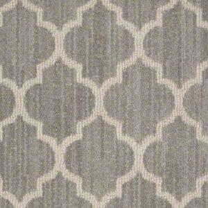 moroccan trellis or quatrefoil carpet