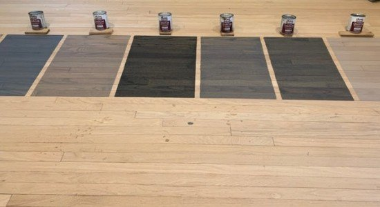New Gray Blended Hardwood Stains By Duraseal The Flooring