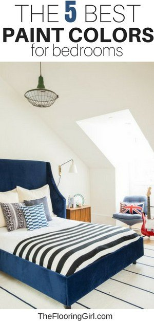 Best Shades Of Paint For Bedrooms