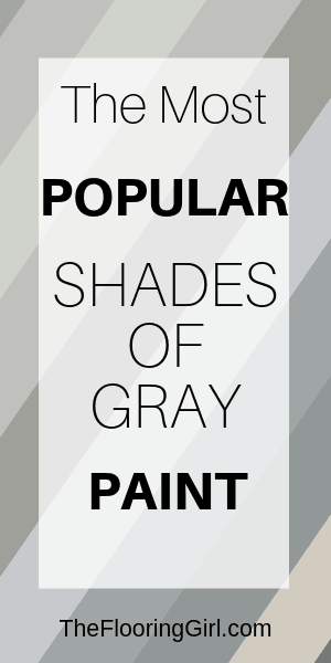 most stylish shades of gray for walls