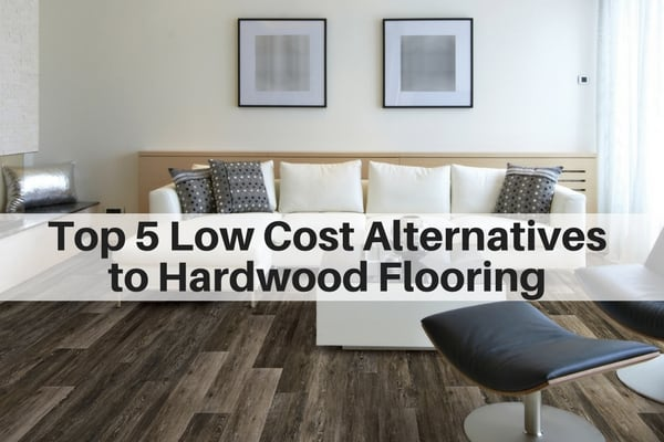 Top 5 Low Cost Alternatives To Hardwood Flooring The