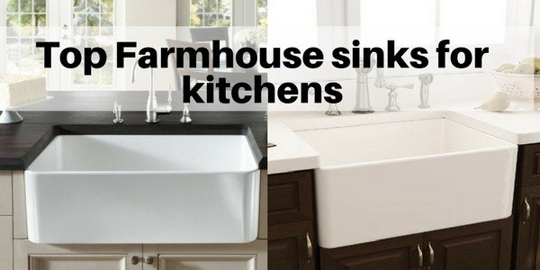 Top Farmhouse sinks for kitchens | How to choose an apron ...