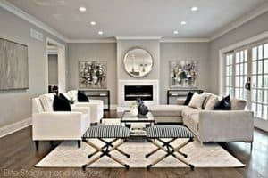 choosing the best cool gray for your home | Sherwin Williams cool grey