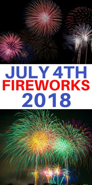 Independence Day 2018 Fireworks in Westchester County NY - New Rochelle, White Plains, Kensico Dam