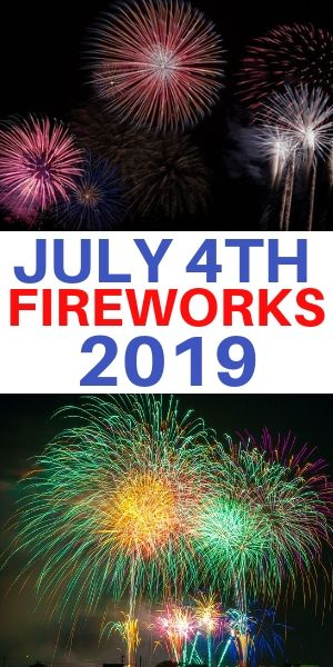 Independence Day 2019 Fireworks in Westchester County NY - New Rochelle, White Plains, Kensico Dam