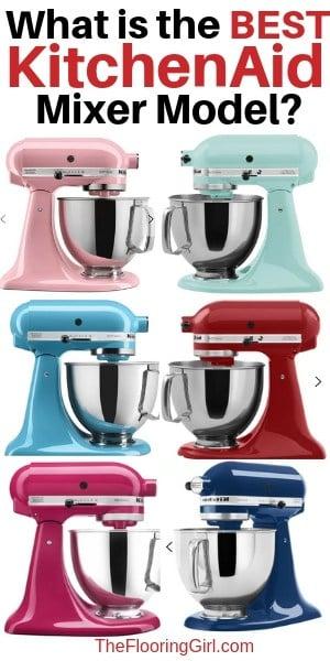 best kitchenAid Mixer models and colors