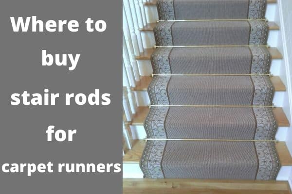 Where to buy stair rods for carpet runners