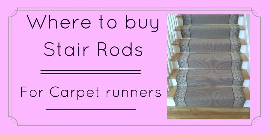 Where to buy the stair rods for carpet runners