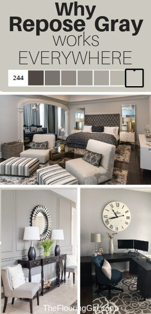 Repose Gray From Sherwin Williams Sw7015 Fabulously Neutral The Flooring Girl