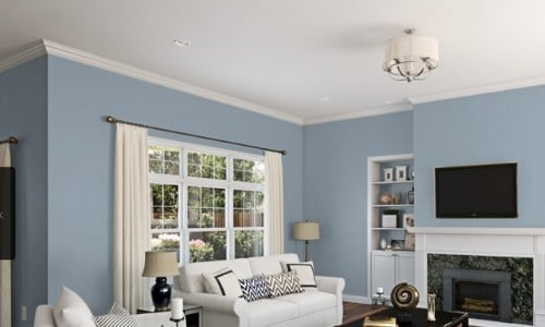 Best Blue Gray Paint Colors (21 stylish dusty blues) | The Flooring Girl