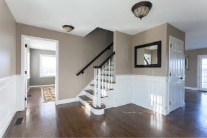 best flooring choice for basement stairs - wood or carpet