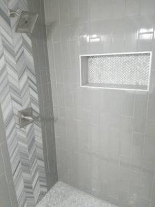 weekend home improvement projects - seal tile grout
