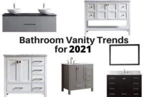 bathroom vanity trends 2021
