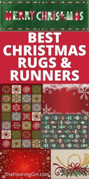 christmas rug runners