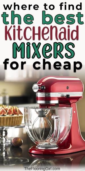 best KitchenAid mixers and where to buy them on sale