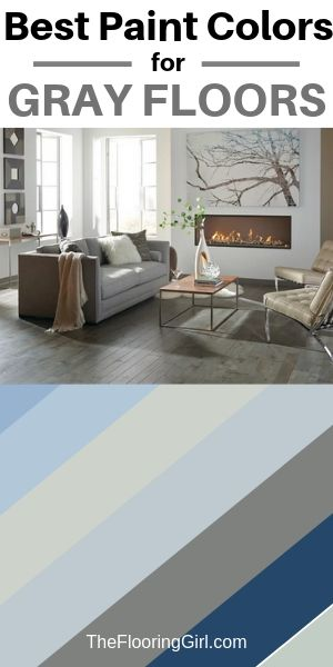 best paint colors for gray flooring and carpets