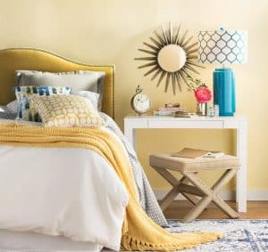 bright shades of paint for north facing rooms