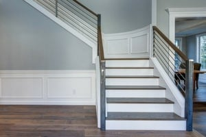 white trim for basement