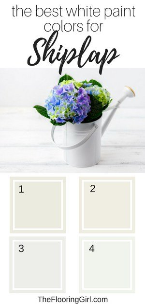 best white shades of paint for shiplap