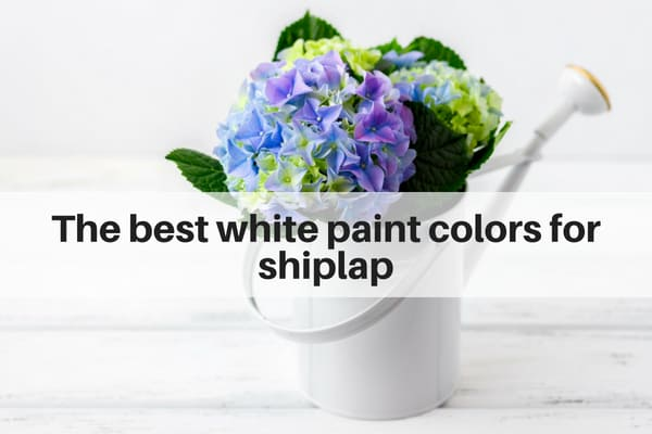 The Best White Paint Colors For Shiplap