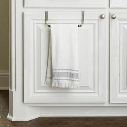 cabinet organization ideas towel bar