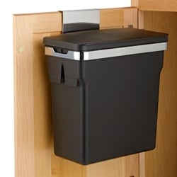 trash can caddy for kitchen cabinets