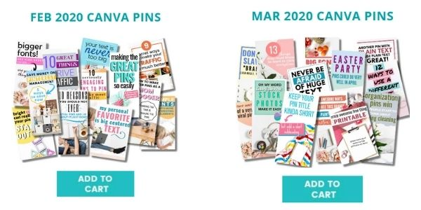 canva pin templates for Black Friday