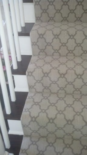 2020 carpet runner trends moroccan trellis