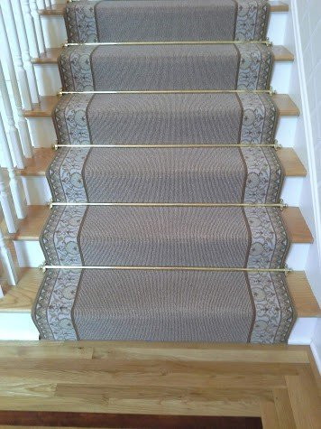 carpet runner with rods in Stamford CT