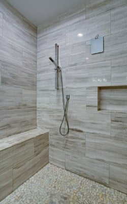 how to clean grout in the shower