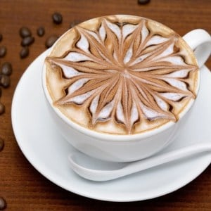 fancy cappuchino design - coffee and latte makers