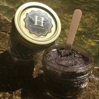 coffee scrub mason jar gift