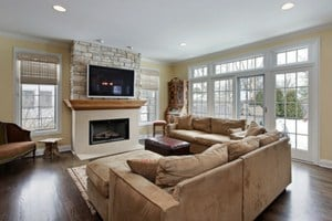 Tips to maintain and clean dark hardwood flooring