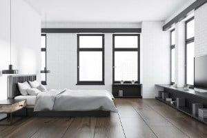 maintaining a home with dark hardwood floors