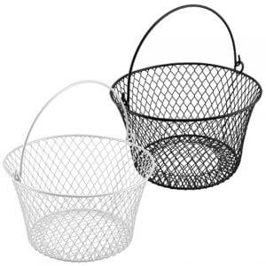 dollar store basket organizer