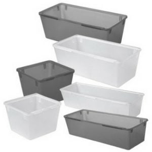 dollar store organization container