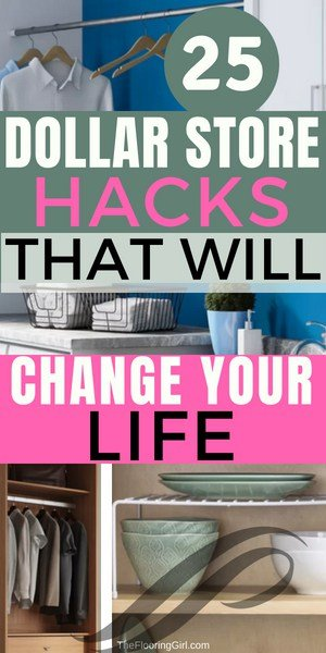Here are 25 dollar store organization hacks that will change your life! Organization can be costly, so we searched to find some of the best and most simple solutions to your everyday organization problems.