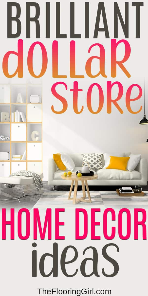 home decor discoveries from the Dollar Store
